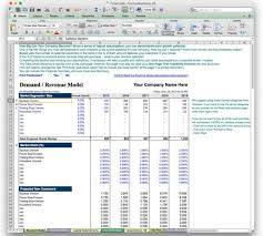 forecast model in excel financial forecast template excel images templates example free