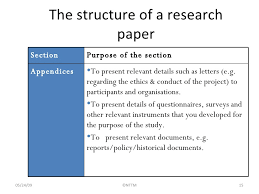 structuring research essay parts of a research paper explorable com