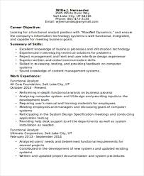 Functional Cv Resume Template Magnolian Pc