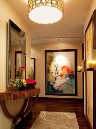contemporary neutral foyer