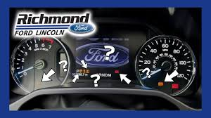F150 4x4 Wrench Light Ford F 150 Dashboard Lights What They Mean And What To Do