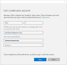 making skype account how to use gmail or yahoo to sign in to windows 10
