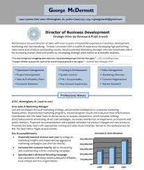 Advertising Agency Example Resume Mid Career Examples Resume P