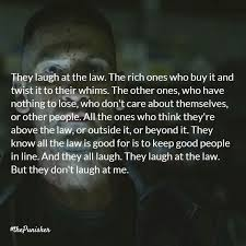 Punisher Quotes Classy 48 Quotes From The Punisher Laughtard