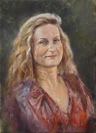 fine art tamara original oil painting on canvas by artist darko topalski