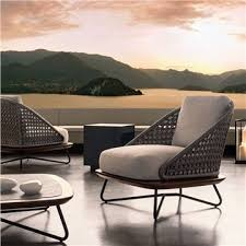 trendy outdoor furniture. Contemporary Garden Furniture Minotti Rivera Armchair Style RiveraArmchair Modern Outdoor Trendy With