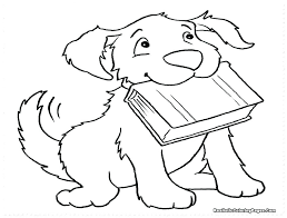 cute puppy coloring pages to print cartoon in pound puppies printable colourin