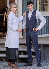 Faith and Christopher Look On - When Calls the Heart Season 8 ...