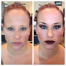 makeup getting makeup done at mac orephora woman tries diffe heisman trophy watch trending on bing