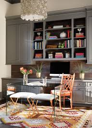 home office magazine. Interior Designer Chenault James Used A Mix Of Neutrals And Brights To Liven Up The Space Home Office Magazine