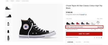 Converse Us Size Chart Sizing Guide Sneakers And Clothing Converse Australia