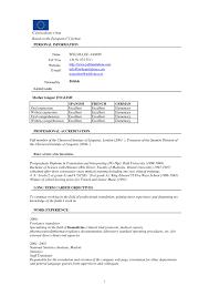 Executive Resume Format Download For Free Sample Cv Resume Doc Cv