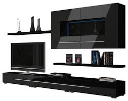 wall units tv wall unit koln modern entertainment center wall unit with led lights white