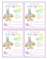 easter egg hunt template easter egg hunt printable invitation with rabbit ziggity zoom