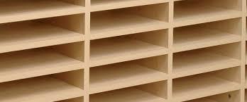 wooden pigeon holes