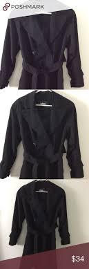 Utex Design Long Coat Utex Design Womens Trench Coat Size Xs Black Utex Design