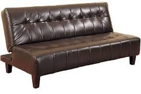 rockaway modern convertible futon couch sleeper java the futon inside brilliant furniture leather sleeper sofa
