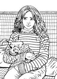 Kids N Funcom Coloring Page Harry Potter And The Prisoner Of