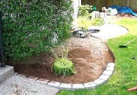 garden edging stone. Garden Wizard Landscape Border Landscaping Stone Brilliant Edging Ideas You Can Do At Home .