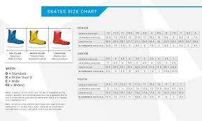 Hockey Skate Conversion Chart 69 Judicious Ccm Skate Size Chart Width