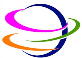 skill logo design. planet logo skill design