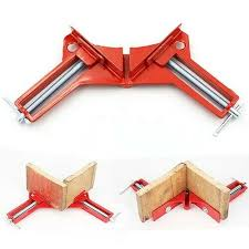 Woodworking <b>90 degree right</b> angle corner clamp clip holder <b>NEW</b> ...