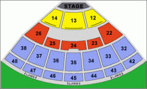 Blossom Music Center Lawn Seating Chart Blossom Music Center Seating Chart Blossom Music Center