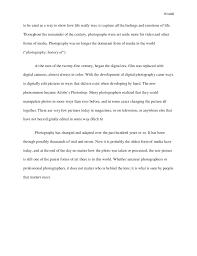 essay on nature love
