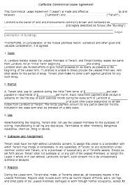 Residential Lease Contract Residential Lease Contract Template