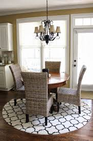 Round Rugs For Living Room Furniture Awesome Basement Living Room Design With Round Table