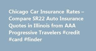 Progressive Quotes Fascinating Chicago Car Insurance Rates Compare SR48 Auto Insurance Quotes In