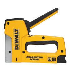 dewalt 18 gauge heavy duty staple nail gun