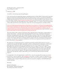 Ideas Of Cover Letter For Chemical Engineering Placement With