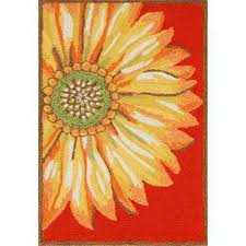 woodside asterales red 3 ft x 4 ft rectangle indoor outdoor area rug