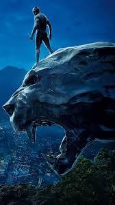 750x1334 Black Panther 4k Movie Poster ...