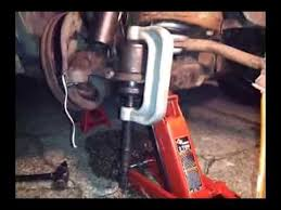 ball joint press tool. how to use a ball joint press tool / install , in lower remove truck dodge chevy - youtube