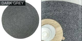 ikea round rugs grey round rug cable knit modern round hand braided woven wool rug light