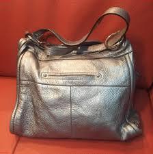 genuine whole b makowsky small purse silver leather hobo bag aiex5gad