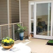 sliding door pet door for sliding glass pet door for frames up to by sliding sliding door pet door through the glass