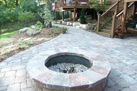 stone patio with fire pit fire pit home depot stone patio cost calculator protect stone patio stone patio with fire pit