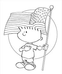 Small Picture Free Printable American Flag Coloring Page Flags Coloring pages