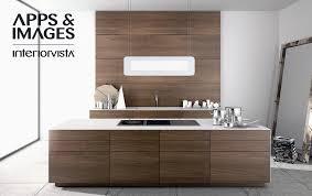 modern walnut kitchen cabinets design interior design ideas