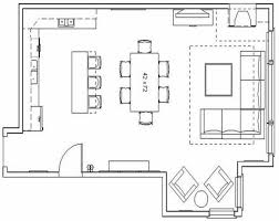 GreatRoomHouseFloorPlans  FLOOR PLAN  OPTION 2  Inspiring Plan Of Living Room