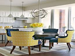 colorful dining room chairs. Antique Kitchen Chairs Blue And Yellow Dining Room Leather Colorful S