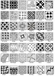Zentangle Patterns Pdf Magnificent Ideas
