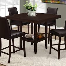 square dining table with leaf. I 1900 Square Counter Height Dining Table With Leaf