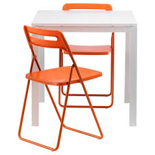 white chairs ikea nisse folding chair high. Delighful White MELLTORPNISSEdining Table And Chairs Throughout White Chairs Ikea Nisse Folding Chair High