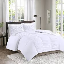 white duvet cover twin xl. Unique Cover Montana White Duvet Cover Set  Teen Girls Boys Bedding Covers U2013  Ruched Pattern TwinTwin XL Size 2 Piece Includes 1 Cover Sham Throughout Twin Xl R