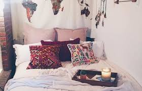 bedroom wall ideas pinterest. Beautiful Ideas Single Bedroom Medium Size Bohemian Pinterest Wall Decor  For An Eternal Excitement Home Design To Ideas