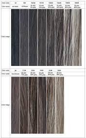 Abiding Hair Color Chart Toupee Haircolour Chart Hair Colour